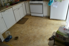 Before- Floor