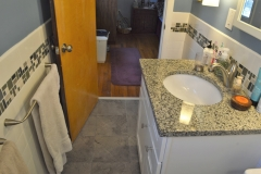 Bathroom view from front