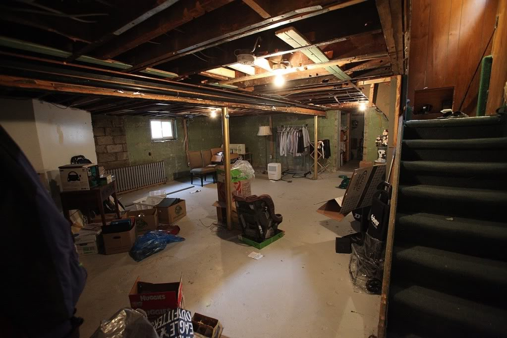 Basement underpinning in washington dc go pro construction for Basement foundation construction