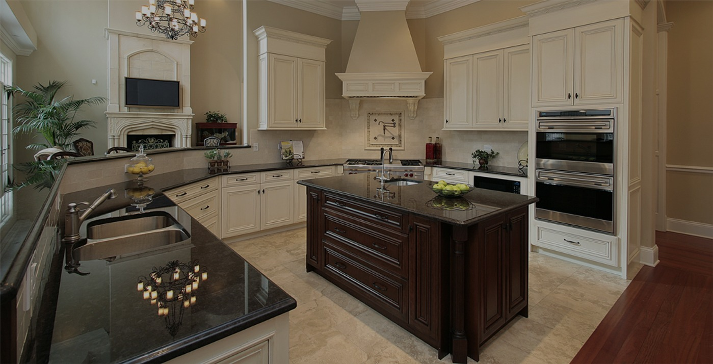 Go Pro Construction Photo Gallery - kitchen remodeling, new cabinets, and granite countertops