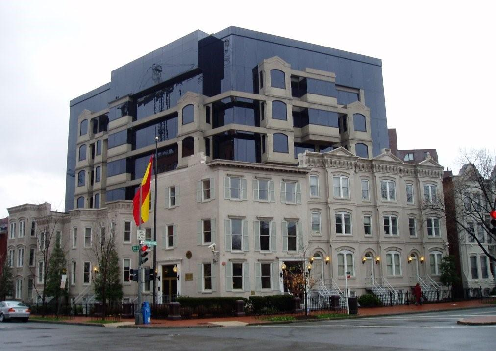 Embassy of Spain Washington DC Go Pro Construction Remodel Project