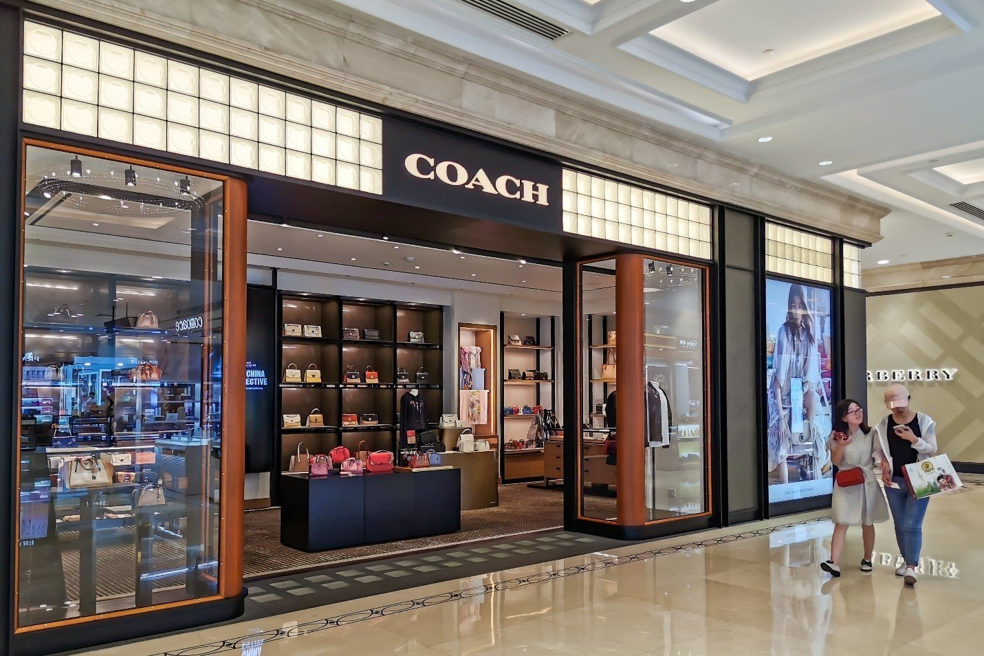 Coach Store Bethesda, Maryland Go Pro Construction Remodel Project