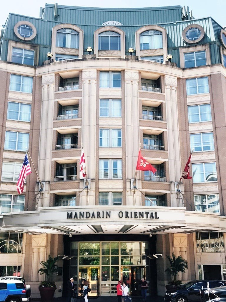 Mandarin Oriental Hotel Washington DC Go Pro Construction Remodel Project